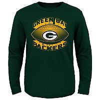 Boys 4-7 Majestic Green Bay Packers Satellite Tee