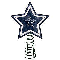 Dallas Cowboys Mosaic Christmas Tree Topper