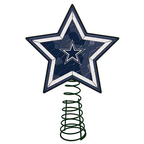 - Dallas Cowboys Mosaic Christmas Tree Topper