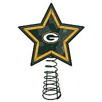 Green Bay Packers Mosaic Christmas Tree Topper