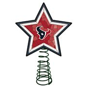 Houston Texans Mosaic Christmas Tree Topper