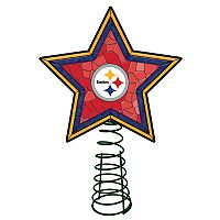 Pittsburgh Steelers Mosaic Christmas Tree Topper