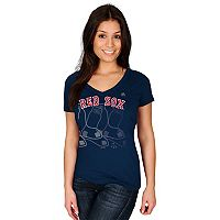Women's Majestic Boston Red Sox Got Him Chasing Tee