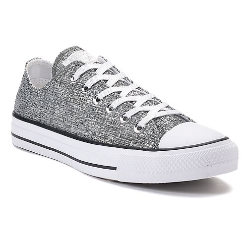 094197acbaa127 Women s Converse Chuck Taylor All Star Ox Sparkle Knit Sneakers