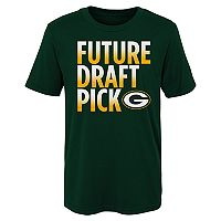 Boys 4-7 Majestic Green Bay Packers Future Draft Pick Tee