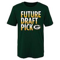 Boys 4-7 Majestic Green Bay Packers Future Draft Pick Tee
