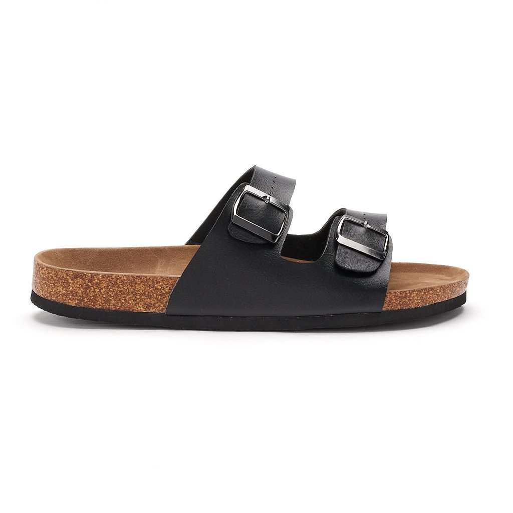 Men's Rock & Republic Double-Buckle Sandals