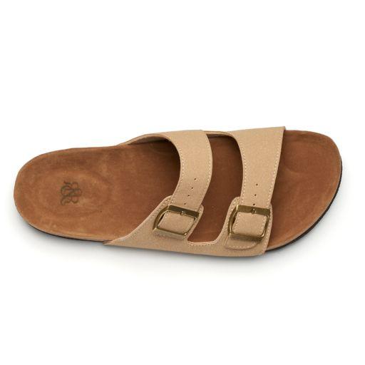Men's Rock & Republic Double-Buckle Sandals