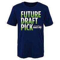 Boys 4-7 Majestic Seattle Seahawks Future Draft Pick Tee