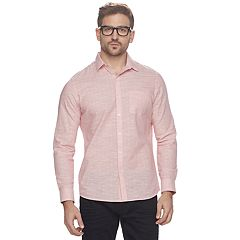 Men's Marc Anthony Slim-Fit Dobby Woven Button-Down Shirt