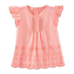 Toddler Girl OshKosh B'gosh® Eyelet Cotton Top