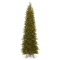 National Tree Company 9-ft. Pre-Lit Grande Fir Pencil Slim Artificial Christmas Tree