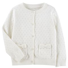 Toddler Girl OshKosh B'gosh® Pointelle Cardigan