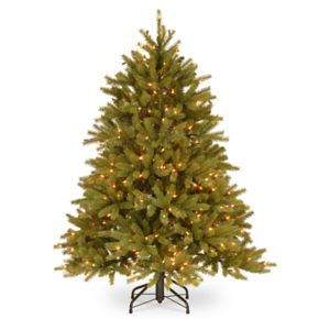 National Tree Company 4.5-ft. Clear Pre-Lit Jersey Fraser Fir Artificial Christmas Tree