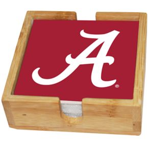 Alabama Crimson Tide Ceramic Coaster Set