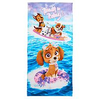 Paw Patrol Chase, Marshall, Rubble Beach Towel