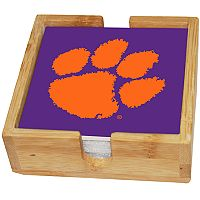 Clemson Tigers Ceramic Coaster Set