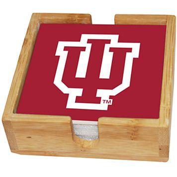 Indiana Hoosiers Ceramic Coaster Set