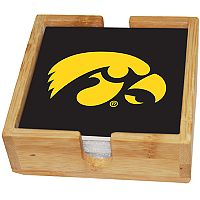 Iowa Hawkeyes Ceramic Coaster Set