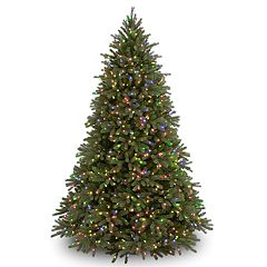 National Tree Company 6.5-ft. Multicolored Pre-Lit Jersey Fraser Fir Artificial Christmas Tree