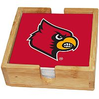 Louisville Cardinals Ceramic Coaster Set