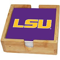LSU Tigers Ceramic Coaster Set