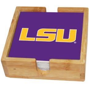 LSU Tigers Ceramic Coaster Set