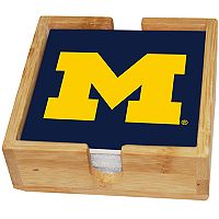 Michigan Wolverines Ceramic Coaster Set