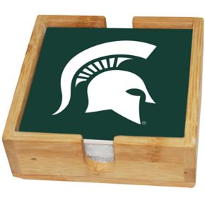 Michigan State Spartans Ceramic Coaster Set