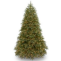 National Tree Company 6.5-ft. Clear Pre-Lit Jersey Fraser Fir Medium Artificial Christmas Tree