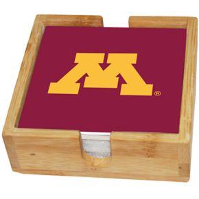 Minnesota Golden Gophers Ceramic Coaster Set