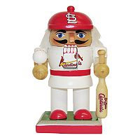 St. Louis Cardinals Nutcracker Christmas Table Decor by Kurt Adler