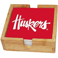 Nebraska Cornhuskers Ceramic Coaster Set