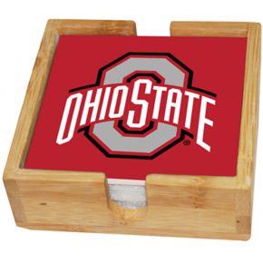 Ohio State Buckeyes Ceramic Coaster Set