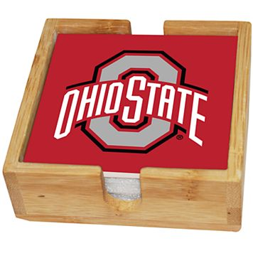 Ohio State Buckeyes Ceramic Coaster Set