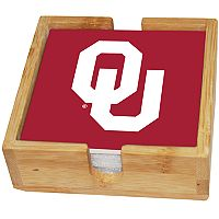 Oklahoma Sooners Ceramic Coaster Set