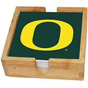 Oregon Ducks Ceramic Coaster Set