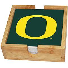 Oregon Ducks Ceramic Coaster Set