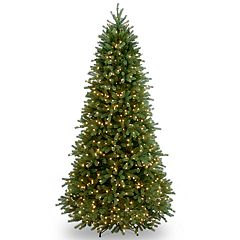 National Tree Company 6.5-ft. Clear Pre-Lit Jersey Fraser Fir Slim Artificial Christmas Tree