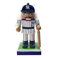 New York Yankees Nutcracker Christmas Table Decor by Kurt Adler