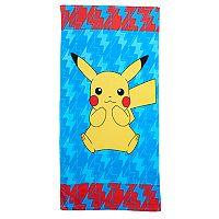 Pokemon Pikachu Beach Towel