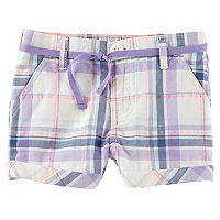Toddler Girl OshKosh B'gosh® Plaid Bubble Shorts