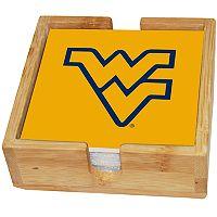 West Virginia Mountaineers Ceramic Coaster Set