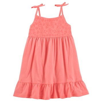 Toddler Girl OshKosh B'gosh® Strapless Embroidered Dress