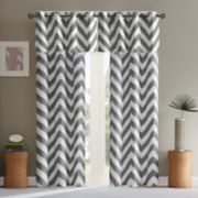 Mi Zone Aries Chevron Window Valance