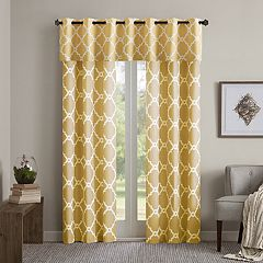 Madison Park Essentials Almaden Printed Window Valance