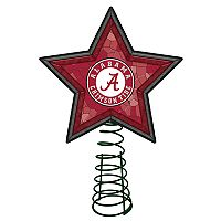 Alabama Crimson Tide Mosaic Christmas Tree Topper