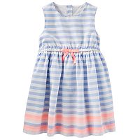 Toddler Girl OshKosh B'gosh® Sleeveless Striped Dress