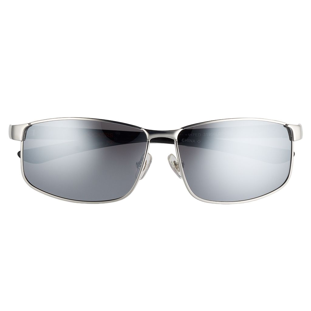 Men's Dockers Single-Bridge Polarized Sunglasses