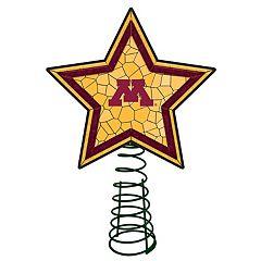 Minnesota Golden Gophers Mosaic Christmas Tree Topper